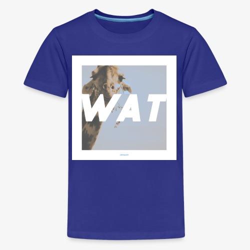 WAT #01 - Teenager Premium T-Shirt