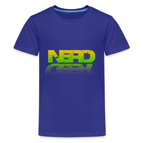 nerd geek - T-shirt Premium Ado