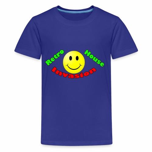 Retro House Invasion - Teenager Premium T-shirt