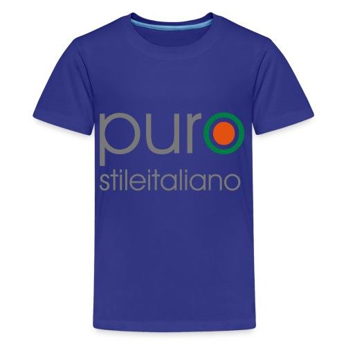 puro stile italiano - Maglietta Premium per ragazzi