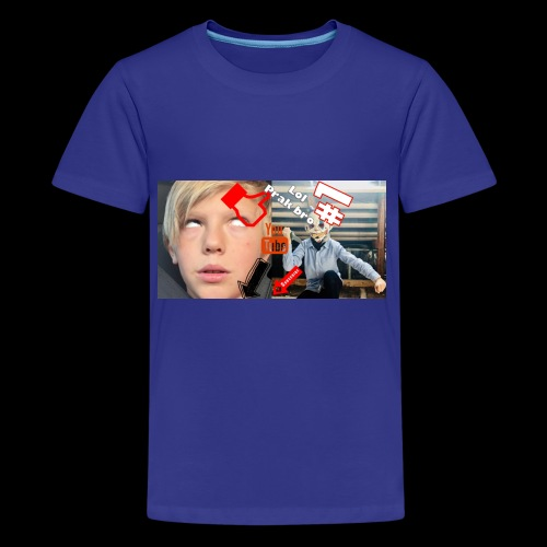 coolrockskingen # - Premium-T-shirt tonåring