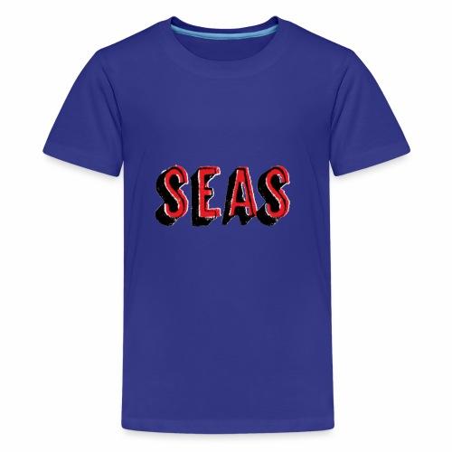 SEAS gesprueht - Teenager Premium T-Shirt