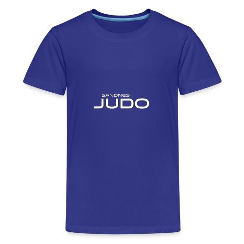 siste fors k logo - Premium T-skjorte for tenåringer