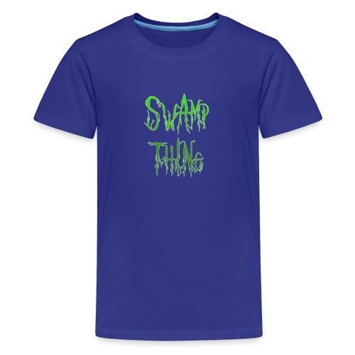 Swamp thing - Teenage Premium T-Shirt
