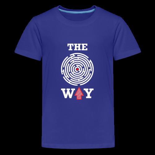 The Way - Teenager Premium T-Shirt