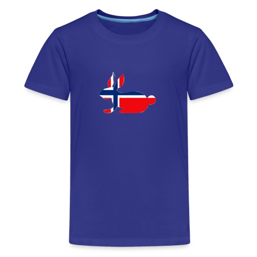 bunny logo - Teenage Premium T-Shirt