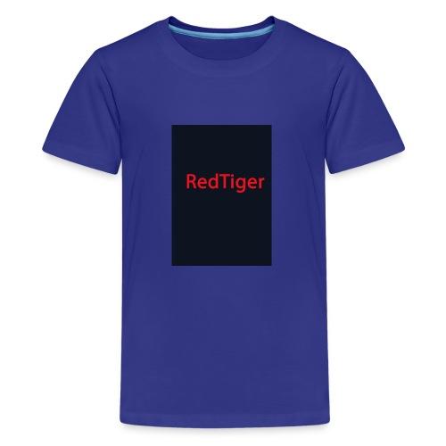 RedTiger Standartlogo - Teenager Premium T-Shirt