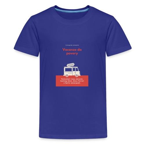 Povery - Maglietta Premium per ragazzi