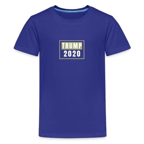 TRUMP 2020 - Koszulka młodzieżowa Premium