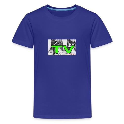 Real Bros TV - Teenager Premium T-Shirt
