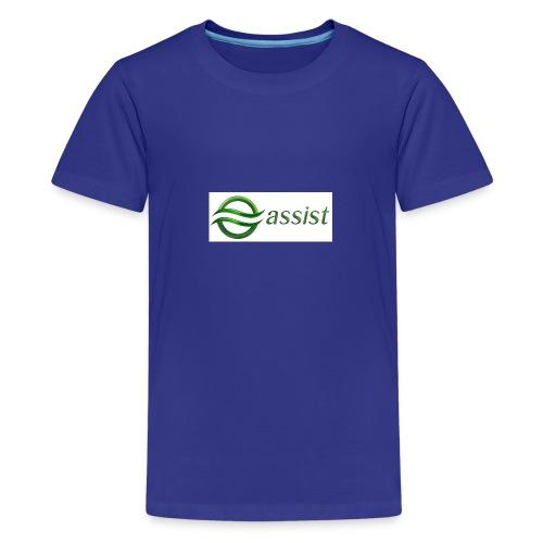 Assist - Teenage Premium T-Shirt