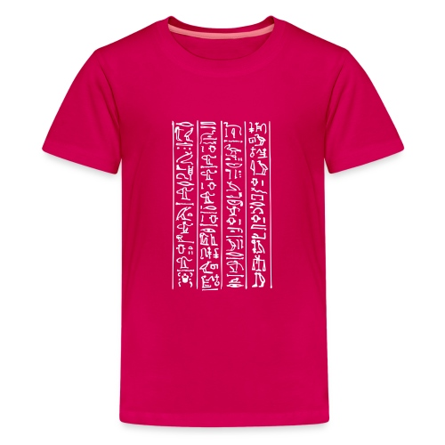 Hieroglyphen - Teenager Premium T-Shirt