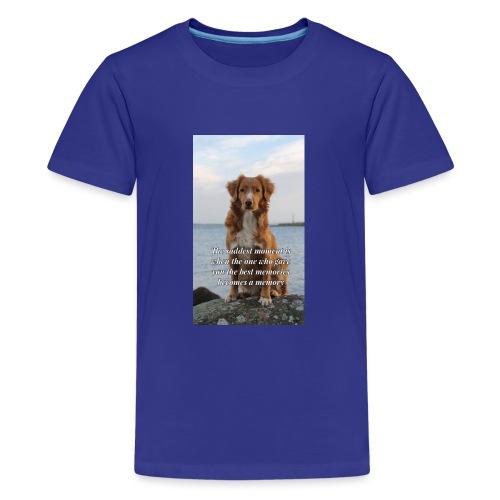 Hundliv - Premium-T-shirt tonåring