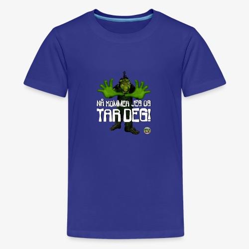 Troll - Premium T-skjorte for tenåringer
