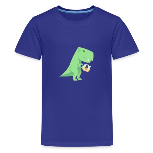 Tea-Saurus - Teenager Premium T-Shirt