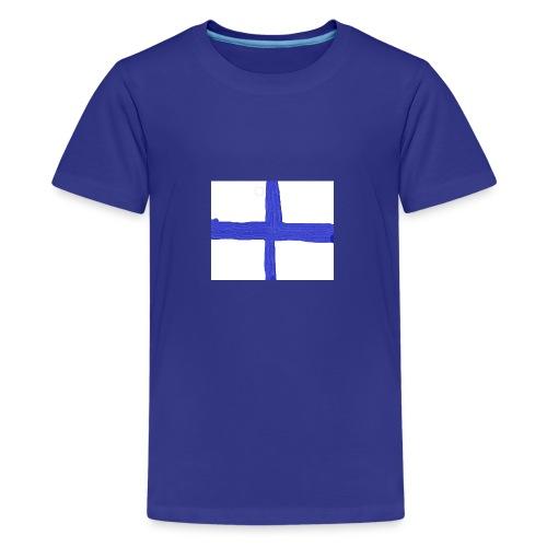 finland - Premium-T-shirt tonåring