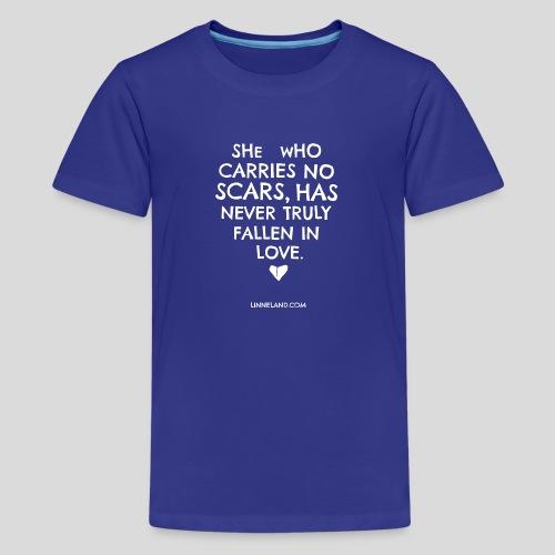 theLinne Heart - Teenage Premium T-Shirt