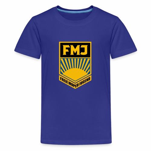 Freie Moped Jugend FDJ Parodie - Teenage Premium T-Shirt