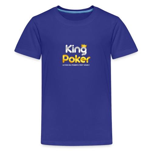 Logo King Poker - T-shirt Premium Ado