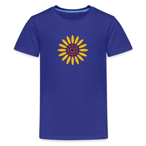 sunflower - Teinien premium t-paita