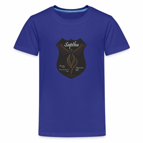 Crest Sapthu - Teenage Premium T-Shirt