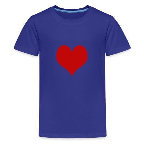 Love&Love - Maglietta Premium per ragazzi