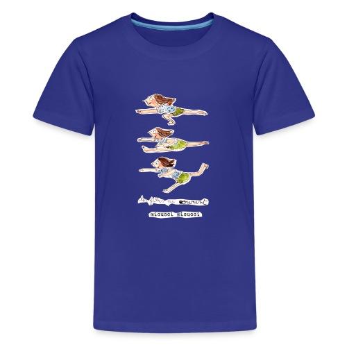 Les filles qui courent de Micucci Micucci - T-shirt Premium Ado