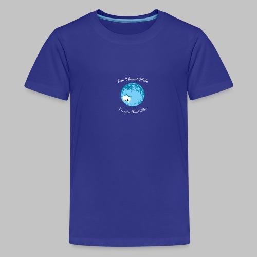 Sad Pluto - Teenage Premium T-Shirt