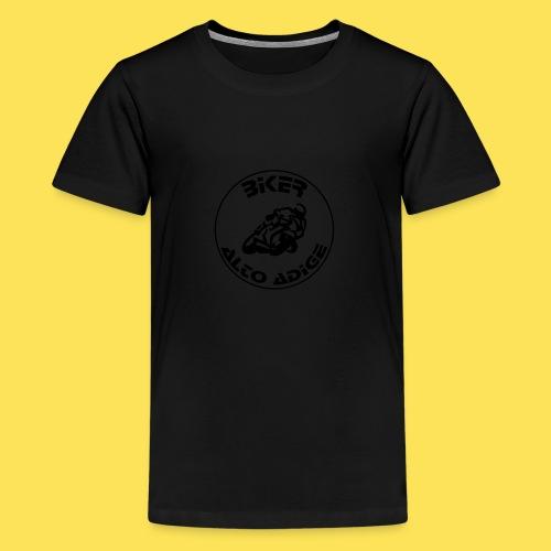 BikerAltoAdige circle logo Jacket - Maglietta Premium per ragazzi