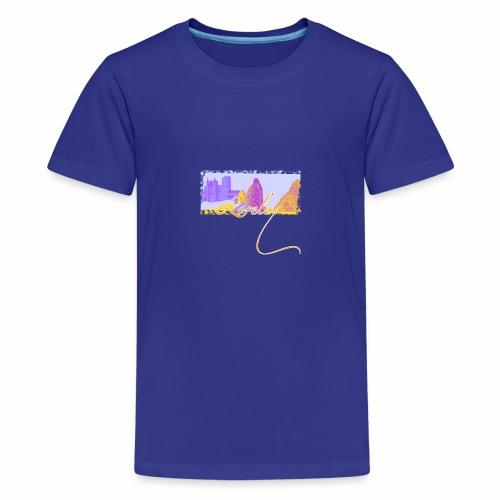 Burgen, Rhein, Loreley - Teenager Premium T-Shirt