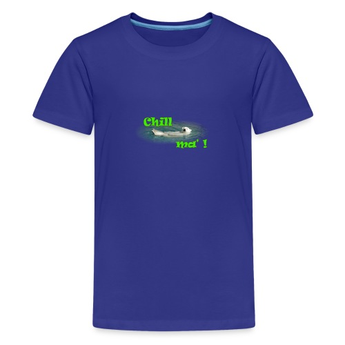 Chill ma'! - Bär - Teenager Premium T-Shirt
