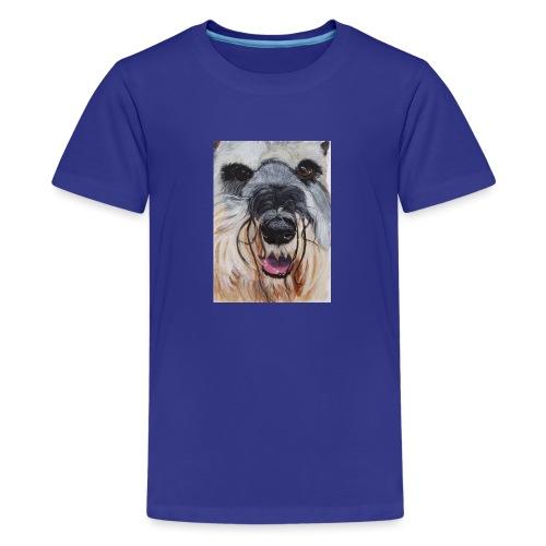 schnauzer - Teenager premium T-shirt