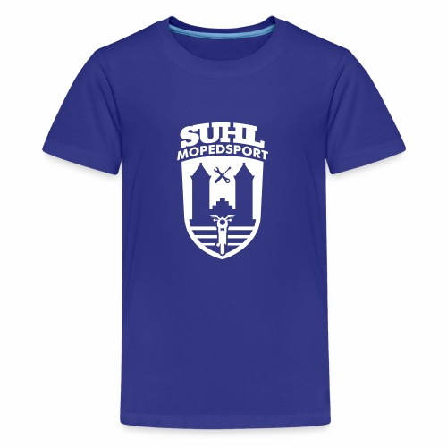 Suhl Mopedsport S50 / S51 Logo No.2 - Teenage Premium T-Shirt