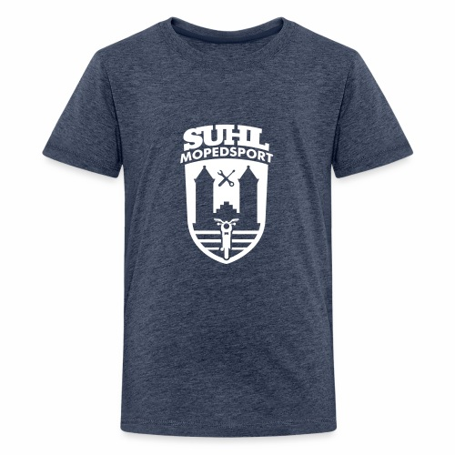 Suhl Mopedsport S50 / S51 Logo No.2 - Teenage Premium T-Shirt