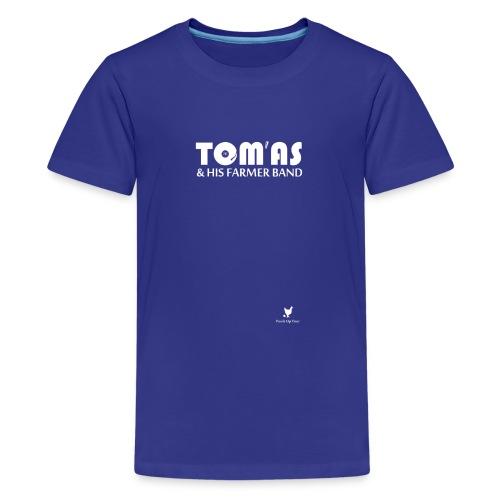 THFB pour T Shirt noir png - T-shirt Premium Ado