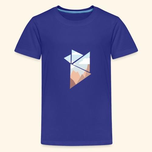 shattered - Premium-T-shirt tonåring