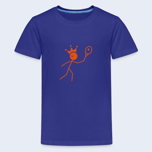 Tenniskoning - Teenager Premium T-shirt