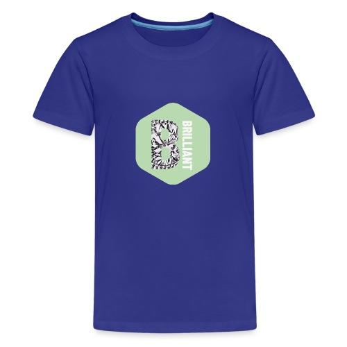 B brilliant green - Teenager Premium T-shirt