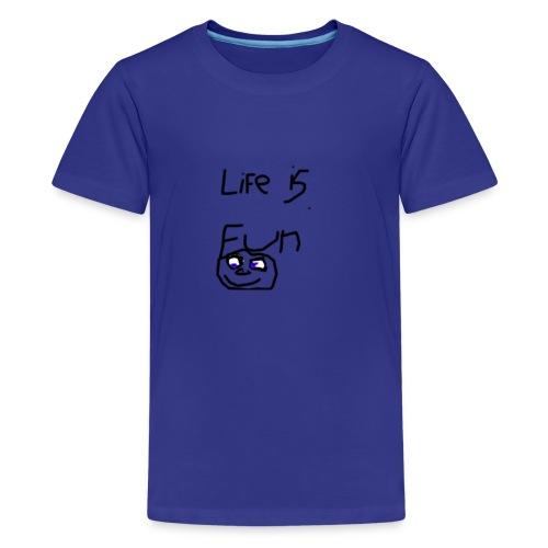 Life Is Fun Merch - Teenage Premium T-Shirt