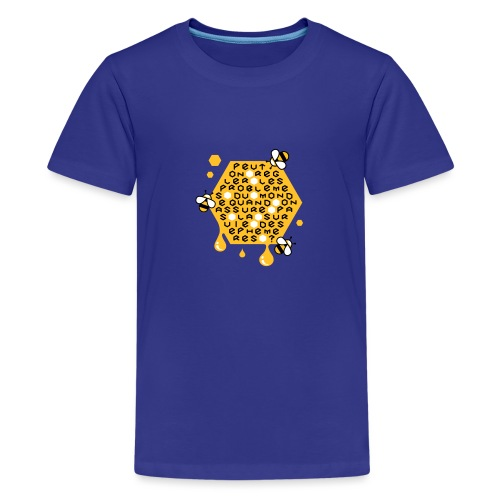 Sauver les abeilles - T-shirt Premium Ado