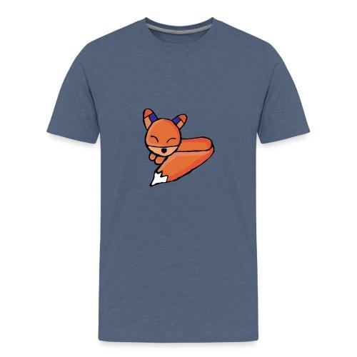 Edo le renard - T-shirt Premium Ado