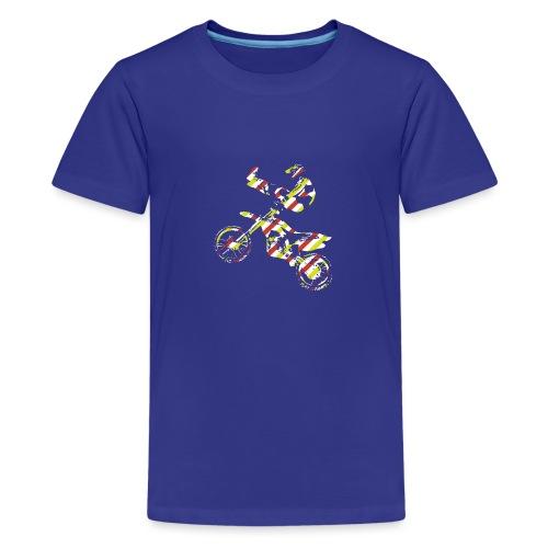 FMX Freestyle Motocross Shaolin - Teenager Premium T-Shirt