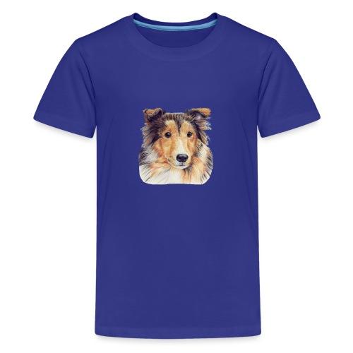 shetland Sheepdog 2 - Teenager premium T-shirt