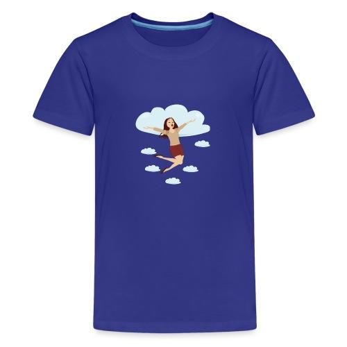 Dans les nuages - T-shirt Premium Ado