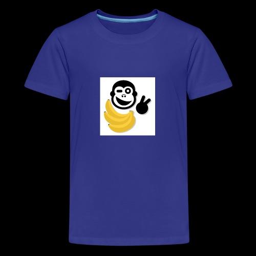 Treue Bananen Logo - Teenager Premium T-Shirt