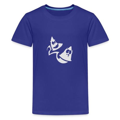 Conos diabolicos con estela - Camiseta premium adolescente