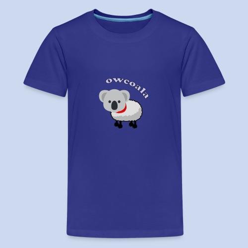 Owcoala - Koszulka młodzieżowa Premium
