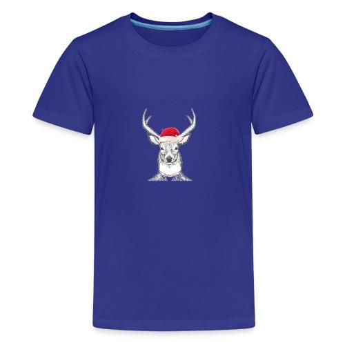 Santacomes.us - Premium-T-shirt tonåring