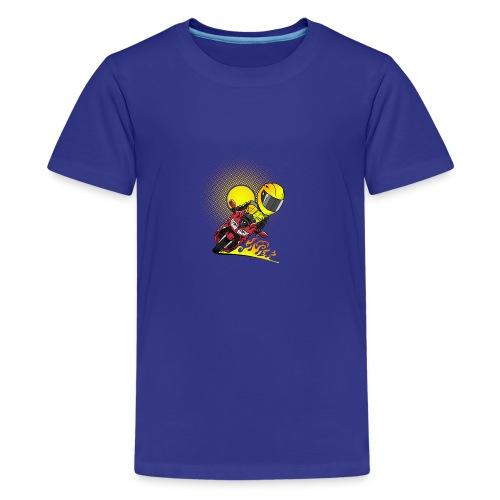 0791 fjr ROOD sun - Teenager Premium T-shirt