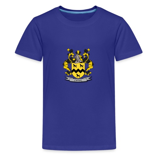 Carrick Family Crest - Teenage Premium T-Shirt